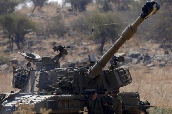 حمله توپخانه ای رژیم صهیونیستی به مرزهای لبنان